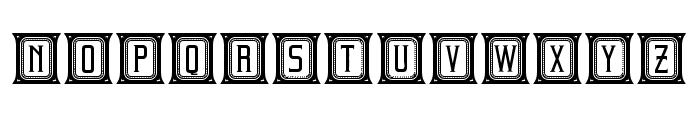 Beholder Capitals Regular Font LOWERCASE