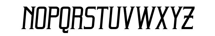 Beholder Italic Font LOWERCASE
