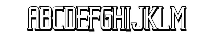 Beholder Outline Regular Font UPPERCASE