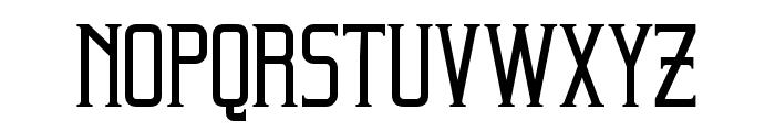Beholder Regular Font LOWERCASE