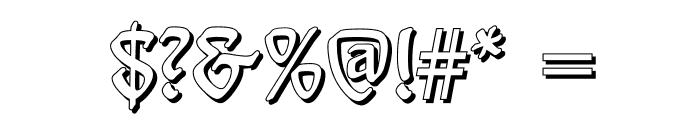 Behrensschrift Shadow Font OTHER CHARS