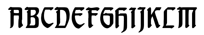 Behrensschrift Font UPPERCASE