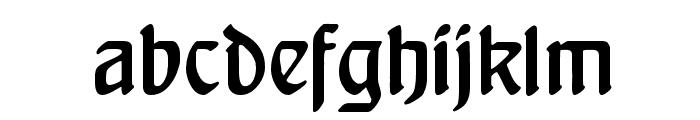 Behrensschrift Font LOWERCASE