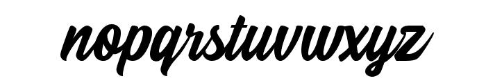 Beindog gite Font LOWERCASE