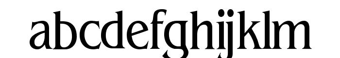 BeinetCondensed Normal Font LOWERCASE