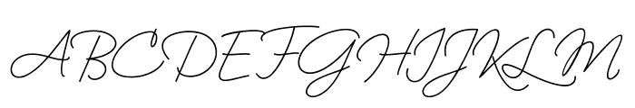 BekafonteScript Font UPPERCASE