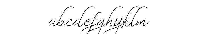 BekafonteScript Font LOWERCASE
