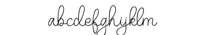 Belandia Font LOWERCASE