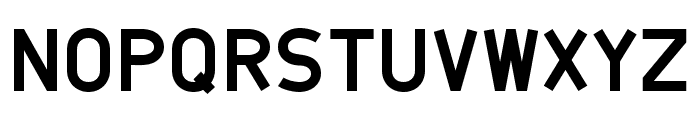 Belanusa Font UPPERCASE