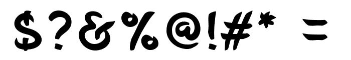 Belepotan Font OTHER CHARS