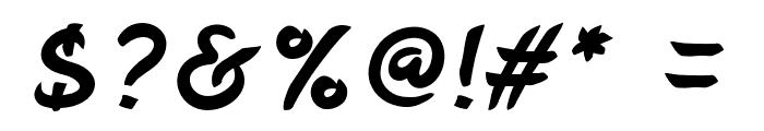 BelepotanItalic Font OTHER CHARS