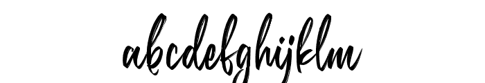 Belgedes Font LOWERCASE