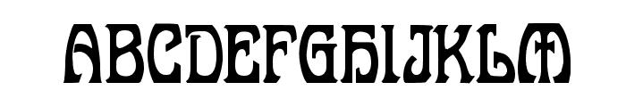 Belgravia Demo Font UPPERCASE