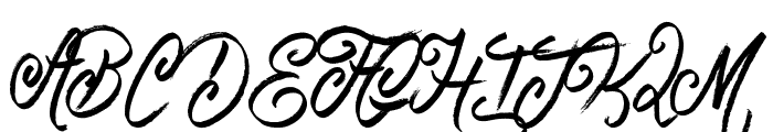 Believer Fever Font UPPERCASE