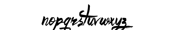 Believer Fever Font LOWERCASE