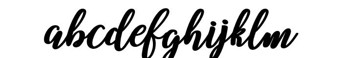 Belindascript-script Font LOWERCASE