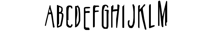 Belizarius Font LOWERCASE