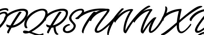 Bella Fashion Personal Use  Font UPPERCASE
