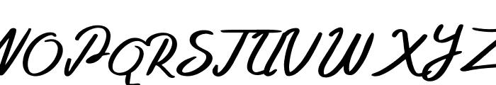 Bellada  Regular Font UPPERCASE