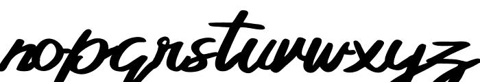 Bellada  Regular Font LOWERCASE