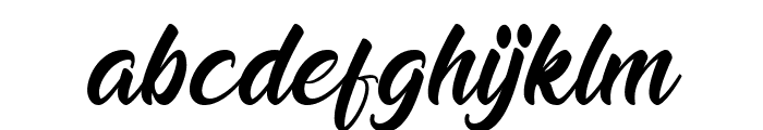 Bellagu Personal Use Only Font LOWERCASE
