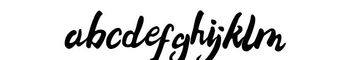 Bellania Font LOWERCASE