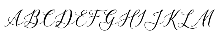 Bellasic Font UPPERCASE