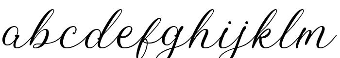 Bellasic Font LOWERCASE