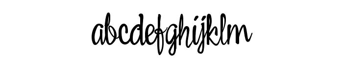 Belle Script Font LOWERCASE