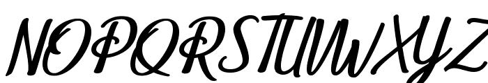 Belle et Belle Personal Use Font UPPERCASE