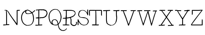 BelleWest-Regular Font UPPERCASE