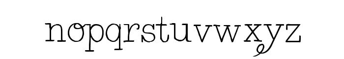 BelleWest-Regular Font LOWERCASE