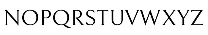 Bellefair Regular Font UPPERCASE