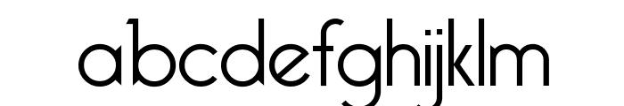 Bellerose Light:1.0 Font LOWERCASE