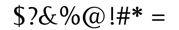 Belleza Regular Font OTHER CHARS