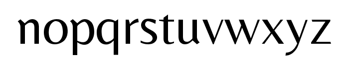 Belleza Regular Font LOWERCASE