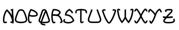 Bellhuy vol 01 Font UPPERCASE