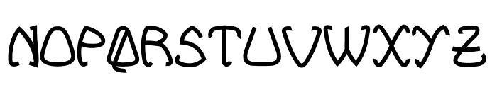 Bellhuy vol 01 Font LOWERCASE