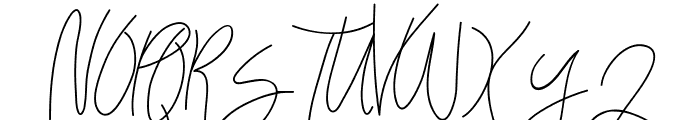 Bellievia Script Font UPPERCASE