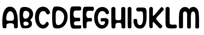 Belligan Font UPPERCASE