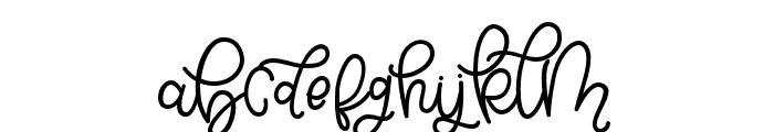 BellindaScript Font LOWERCASE