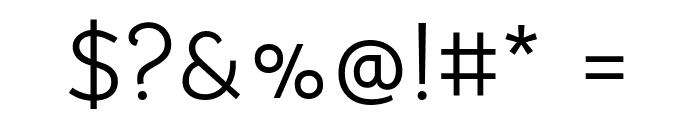 Bellota Text Regular Font OTHER CHARS