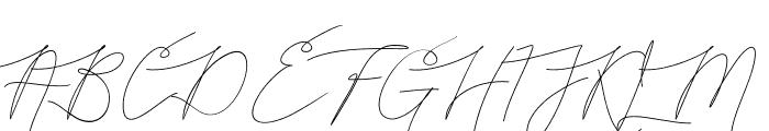 Bellya Vaky Font UPPERCASE