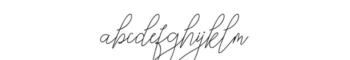 Bellya Vaky Font LOWERCASE