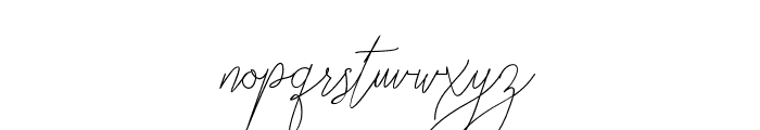 BellyaVaky Font LOWERCASE
