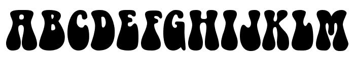 Bellybeans FG Regular Font UPPERCASE