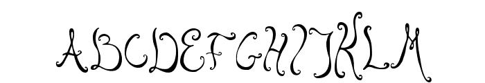 Bellyfish Font UPPERCASE