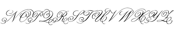 Belphebe Font UPPERCASE
