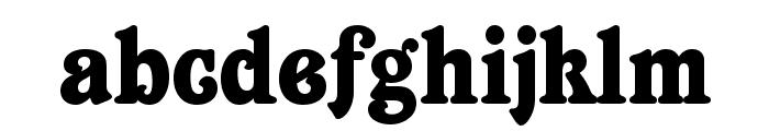 Belshaw Font LOWERCASE