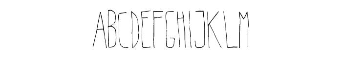 Belta Light Font UPPERCASE
